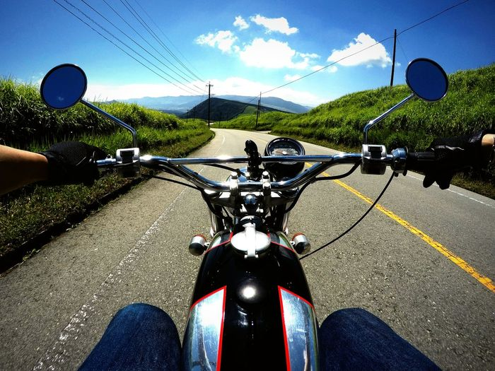 Hotsummer On The Road BSA GoPrography Gopro Eye4photography  Sky And Clouds Motorcycle EyeEm Best Shots EyeEm