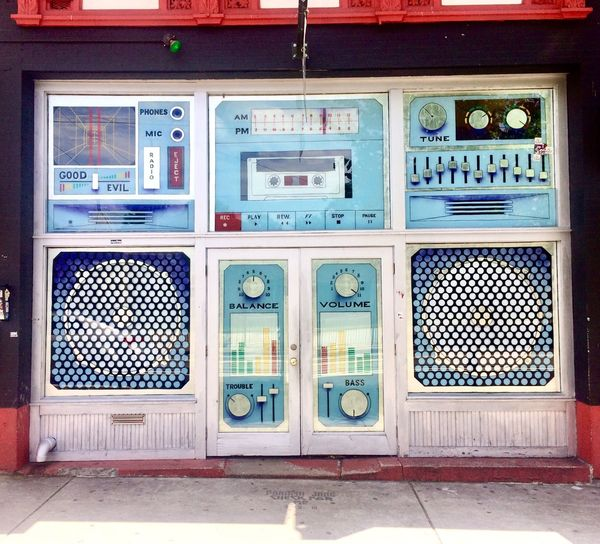 The Music Room Sweet Auburn Old Fourth Ward Auburn Avenue, No People Day Technology Architecture Communication Window Wall - Building Feature No People Day Technology Architecture Communication Window Wall - Building Feature