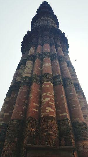 India Times QutubMinar Newdelhi Travelling Samsung Galaxy S6 Edge Wanderlust India Samsungphotography Tallesttower Minaret