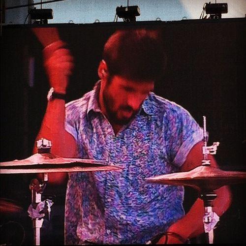 #optimusalive heliomorais melhor baterista português!!! Optimusalive