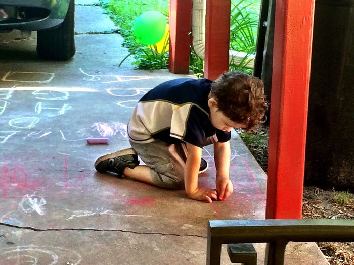 Childhood Chalk