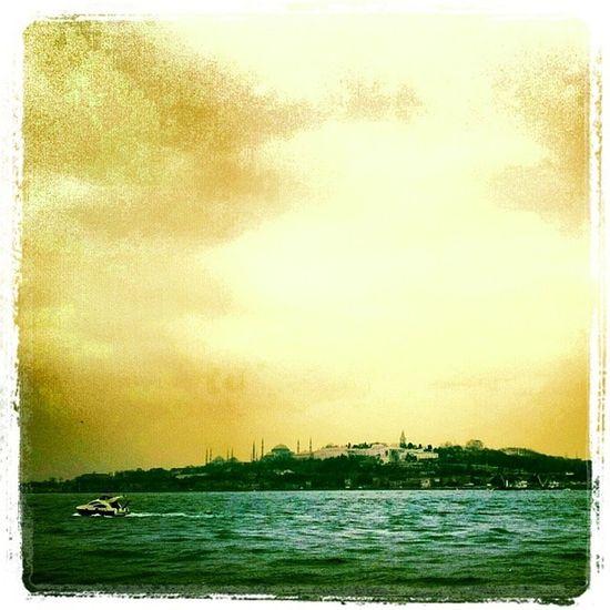 Mosgue Bluemosgue Hagiasophia  Istanbul turkey muslim magic mystic sea boat sky boat bosphorus istanbulbosphorus art architecture history historical journey günaydın goodmorning exotic authentic city life light