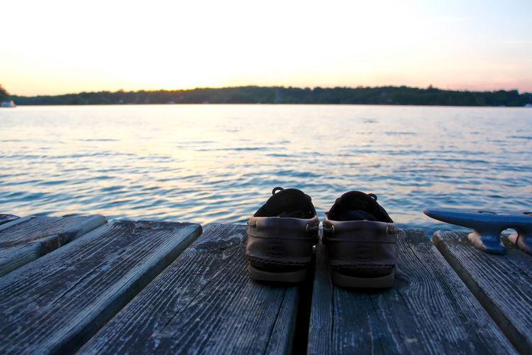 Dockside Boatshoes Sperrys River Sunset