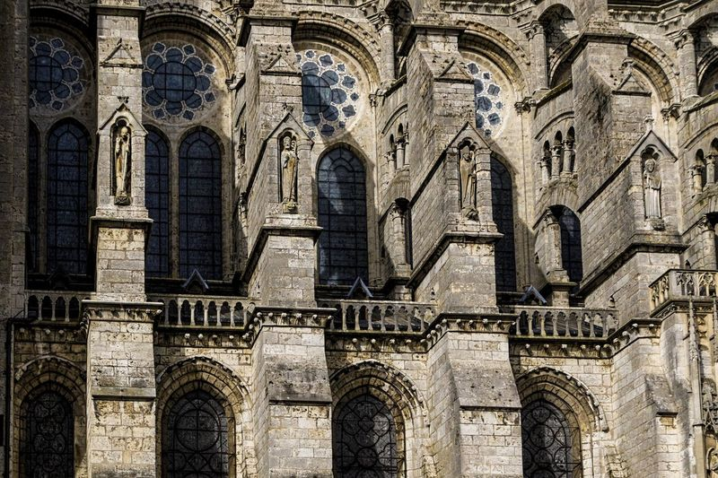 Architecture Chartres Chartres Cathedral France Gothic Architecture Place Of Worship Spirituality Architecture Belief Building Building Exterior Day Gothic Beauty  Gothic Church Gothic Style History No People Outdoors Place Of Worship Religion Spirituality The Past Travel Destination Travel Destinations