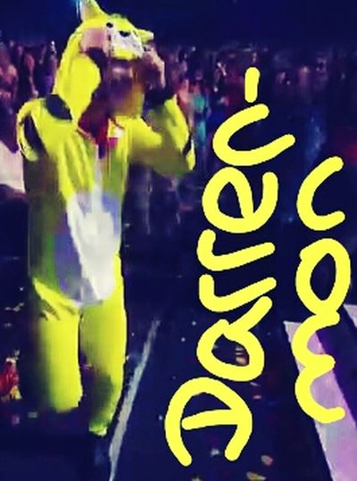 DarrenCriss Darrenas A Pickachu TCAs 2013 Darrenmon not pokemon. :D