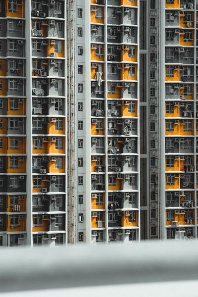 Architecture Building Building Exterior Hong Kong HongKong EyeEm Nature Lover EyeEm Gallery EyeEmNewHere EyeEm Best Shots EyeEm EyeEm Selects Indoors  No People In A Row Side By Side Technology Repetition Large Group Of Objects Arrangement Order Connection Business Finance And Industry Architecture Communication Industry Abundance Full Frame Business Backgrounds Nature
