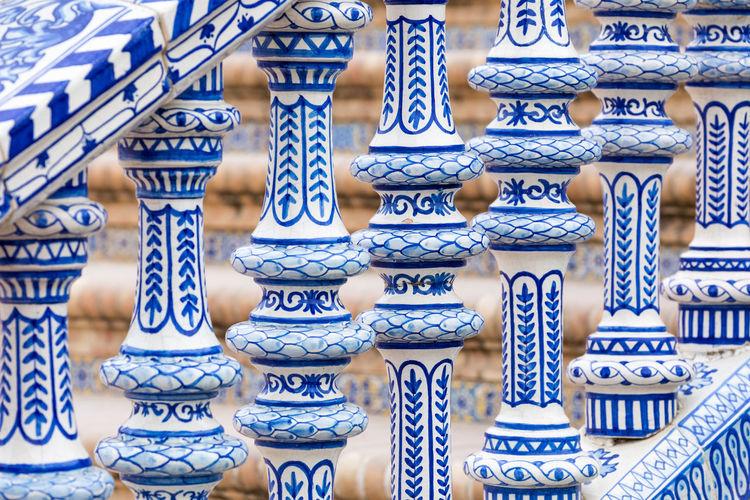Full frame shot of patterned for sale in market