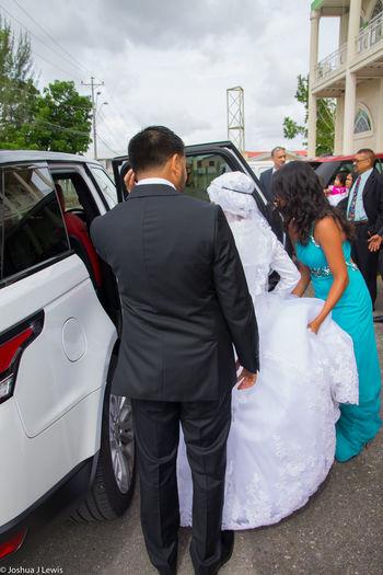 Bridegroom Wedding Ceremony Wedding Beautiful Caribbean Life Events Trinidad And Tobago Wedding Dress Religion Muslimwedding Stillife Togetherness Husband Happiness Couple - Relationship Car Ceremony Two People Couple