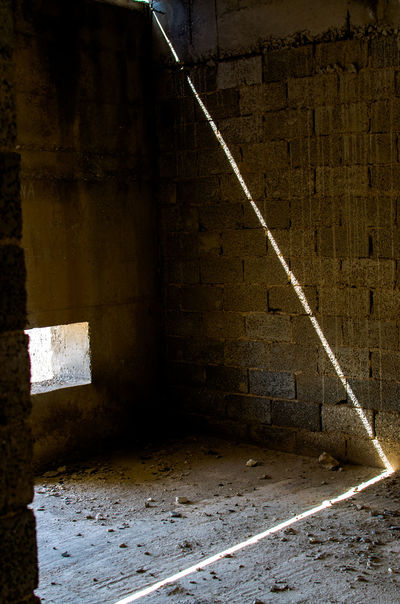 Architecture Beam Built Structure Cellar Day Indoors  Industry Light And Shadow No People Shadow