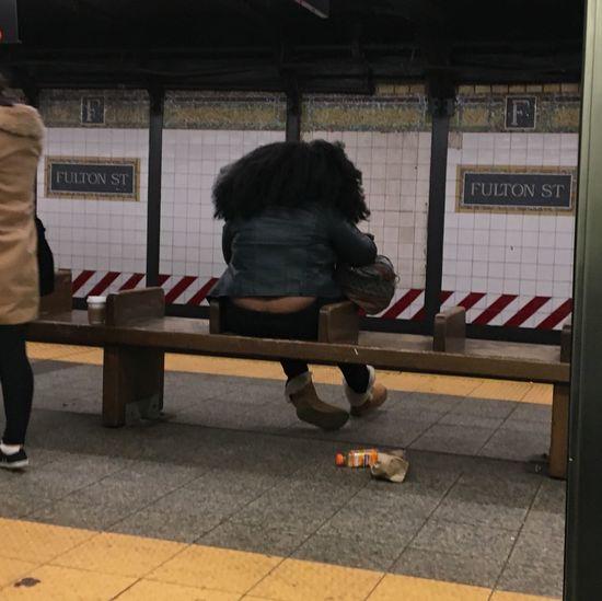 Fultonstreet Subway nyc NYC Humansofny