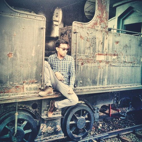 Train Tamanminijakarta Vintage