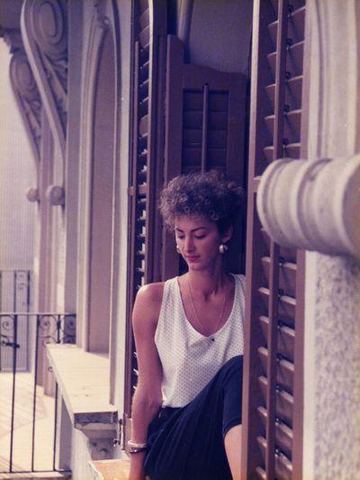 Una preciosa foto de Lola , mi media naranja desde hace ya 25 años.