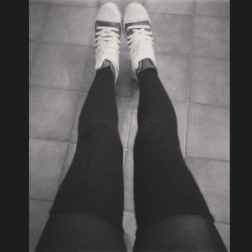Hanging Out Blackandwhite Shoes ♥