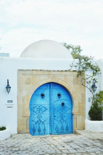 Tunis Tunisia Sidi Bou Said Beauty In Nature