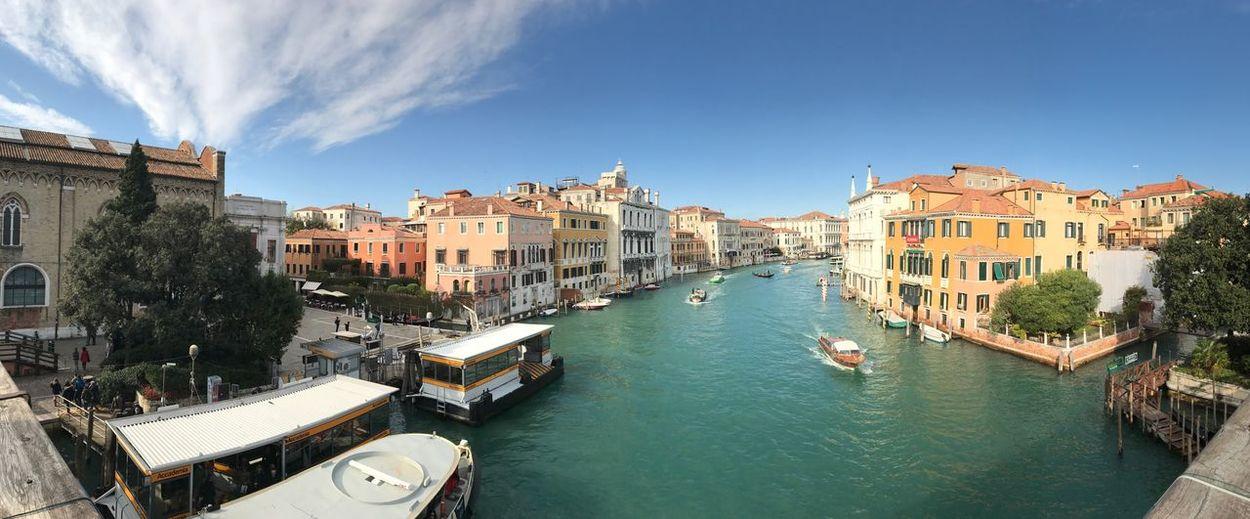 Venice idyllic cityscape