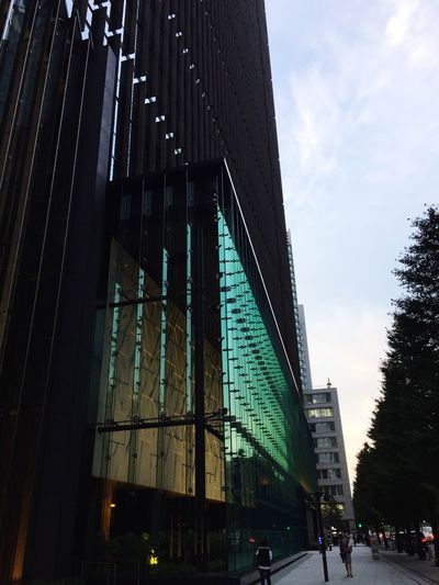 Architecture Built Structure Tokyo Street Photography Ootemachi Sunset