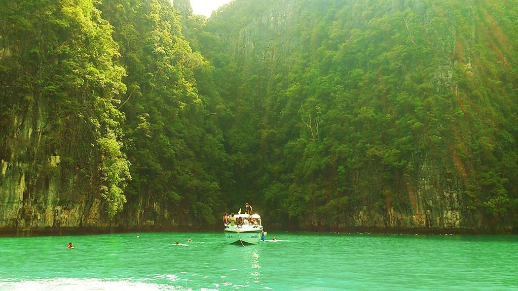 Beauty In Nature Day Krabi Krabi Thailand Nature Nautical Vessel No People Outdoors Phuket Phuket,Thailand PpIsland Sailing Scenics Sea Sea And Sky Sea View Sky Thaibeach Thebeatles Transportation Tree Water Finding New Frontiers