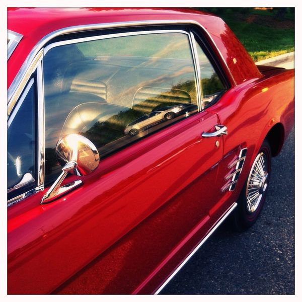 Mustang Vintage Cars Classic Car Automobile Car Auto