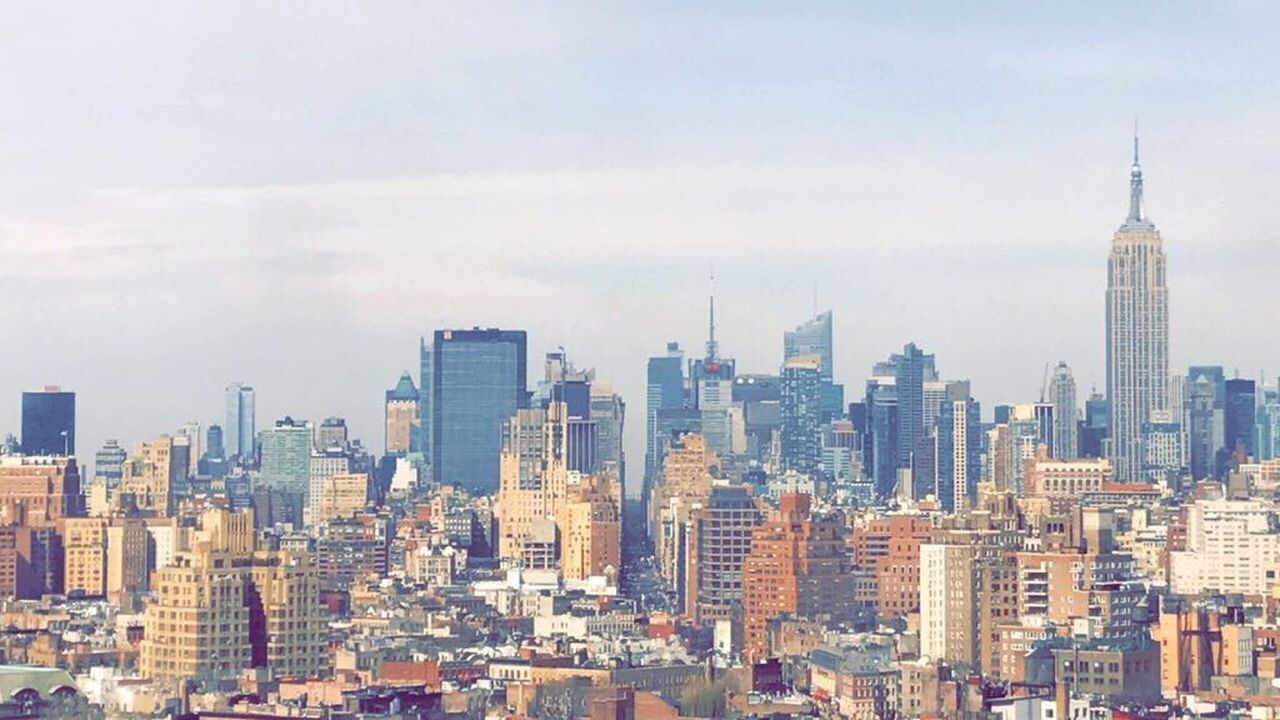 skyscraper, architecture, city, building exterior, cityscape, tower, modern, built structure, tall - high, urban skyline, travel destinations, skyline, tall, downtown, downtown district, no people, day, outdoors, sky, office park