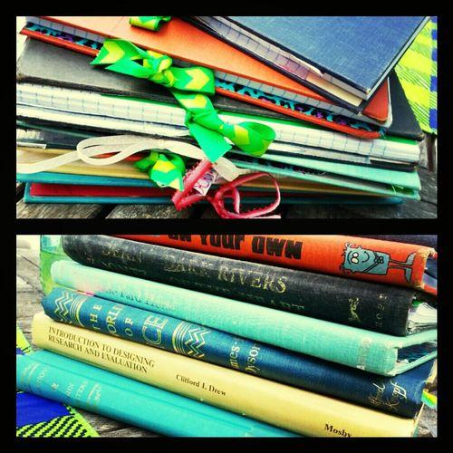 Journal Crafty Upcycled Whattdowitholdbooks