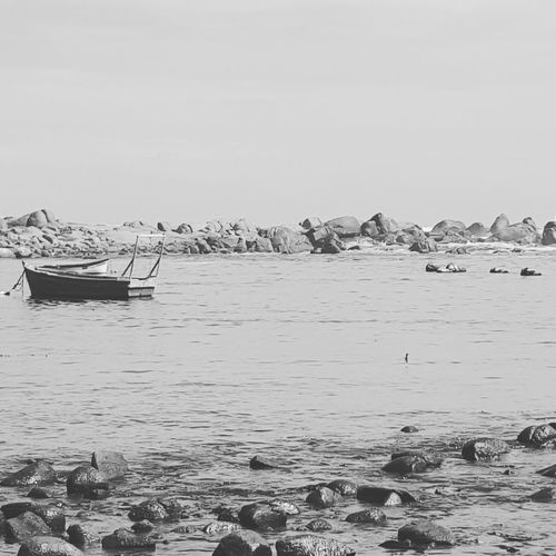 Ocean View Black & White South Africa West Coast Jacobsbaai Calmness Within Silence Of Nature
