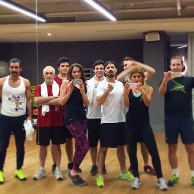 Hiç bu kadar boş ders yapmamıştık :) Fitness Cardio Sports Jatomi macka grupders
