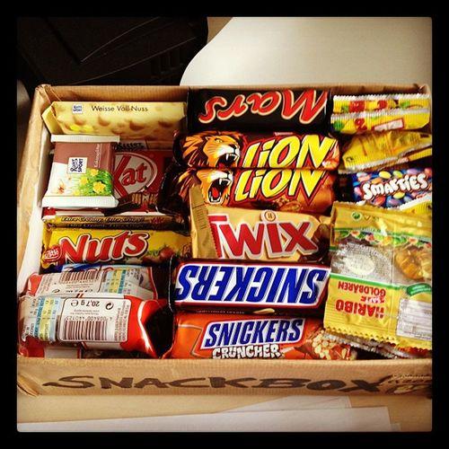 Snackbox wurde aufgefüllt. :)