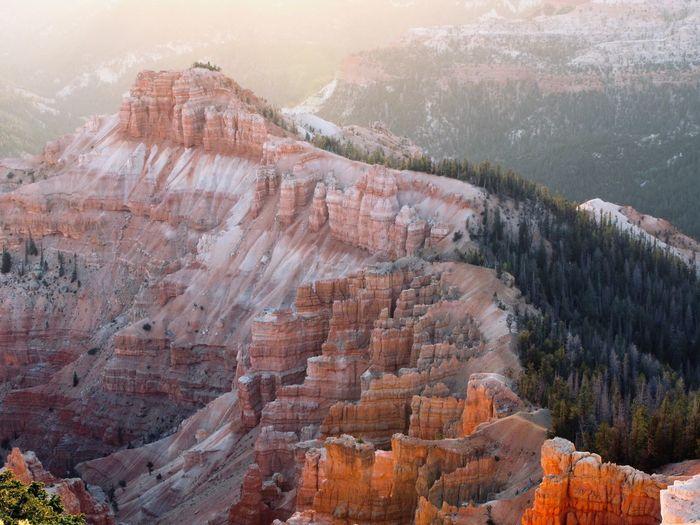 High angle view of canyon
