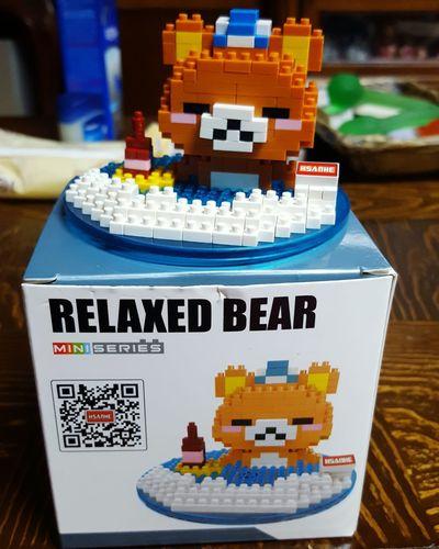 귀엽쥬? Microblock Nanoblock Bear