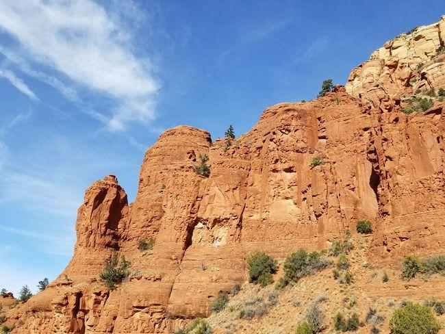 Rockporn Redrocks Arizona Paintedrock EyeEm Selects Rock - Object Rock Formation Travel Destinations Scenics Nature Landscape Desert Beauty In Nature Mountain Rock Hoodoo Cloud - Sky