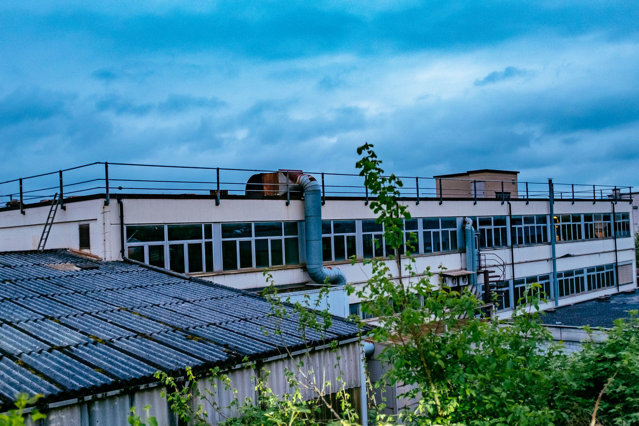 architecture, built structure, building exterior, sky, no people, cloud - sky, outdoors, roof, day, nature