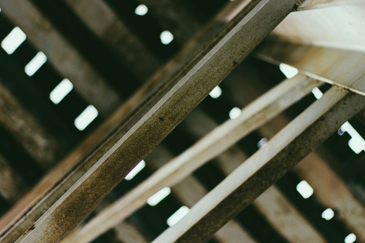 Train Tracks Rust Light Lines And Shapes Geometric Shapes