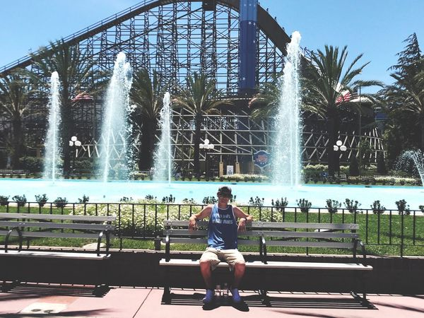 First time at Great America EyeEmNewHere California Great America Posing For The Camera Santa Clara