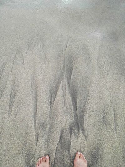Sand Beach Lifestyles Directly Above Leisure Activity Low Section High Angle View Real People Sand One Person Lifestyles Human Leg Directly Above Beach Day Standing Outdoors Leisure Activity Pattern, Texture, Shape And Form Sand & Sea Feet Waves, Ocean, Nature Sand Pattern Sea Beach Nature Nature Second Acts