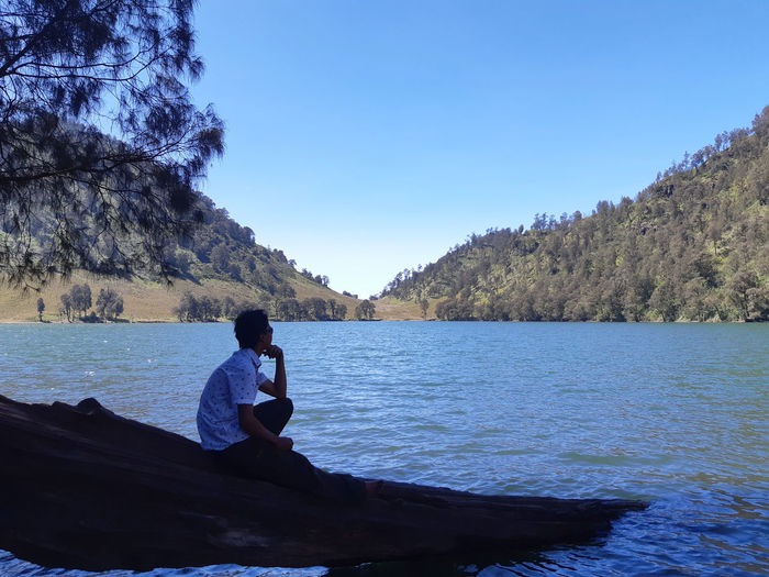 Beatiful nature mahameru indonesia