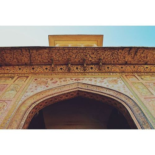 A thing of beauty is a joy forever Location - Amer Fort (Amber Palace), Jaipur, Rajasthan, India IndiaJourney India Jaipur Rajasthan Amerfort Vscocam VSCO Vscoindia Vscoexplore Vscotravel Explore Travel Beautiful Paintings