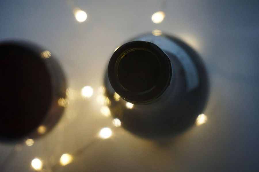 Wine Moments Wine No People Illuminated Close-up Indoors  Concentric Space Astronomy Day Wineglass Winebottles Light Lights From Above  Close Up