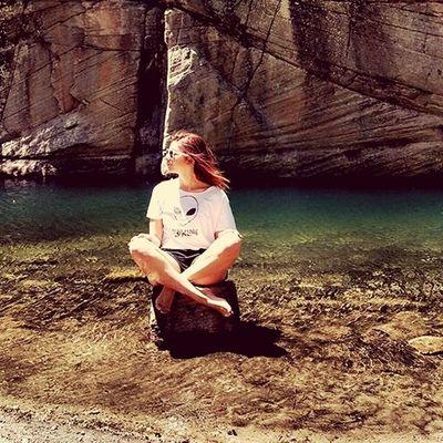Fun Water Success Nature Photography Nature Outdoors Arizona Adventure AZ Girl Female Mediatation