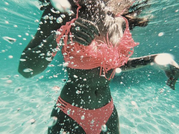 Explosion Underwater Water GoProhero6 Gopro One Person Real People Lifestyles Water Pool Swimming Pool A New Beginning