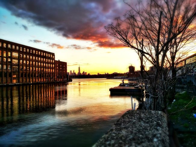 Manhattan view from Long Island City Architecture Boat Building Exterior City Cityscape Cloud Connection Lake Long Island City Man Manhattan Nature New York Newyork NY NYC, Outdoors Reflection River Sky Skyline,clouds,ocean,rain My Best Photo 2015 Trees Water Waterfront