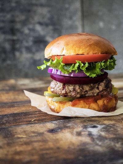 Burger Beef Bun