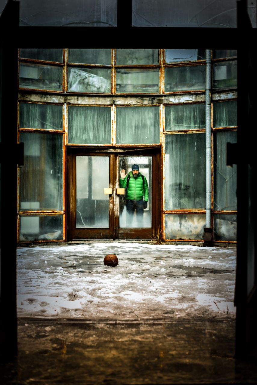 one person, full length, real people, window, indoors, architecture, built structure, day, young adult, young women, adult, people