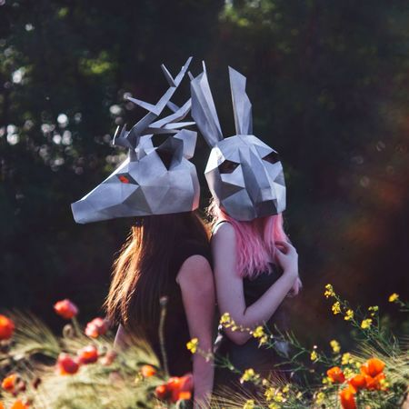 Animals and poppies #Creativity  #russia #krasnodarterritory #girl #flovers #Nature  #poppies #papercraft #paper #devyatkinamodel #devyatkina #artphoto #art #tateshiart #tatartarium #tateshiyokotaishi #Tateshi EyeEm Selects First Eyeem Photo