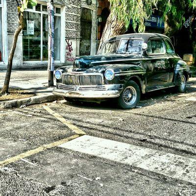 Vintage Cars ColoniaRoma Mexico City AlvaroObregon