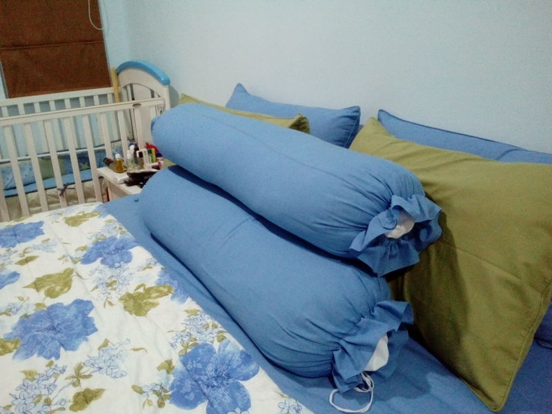 My Favorite Place Bedroom Pillows And Blankets Comfort Jakarta Indonesia Bed Indoors  Home Interior Pillow No People Home Showcase Interior Day
