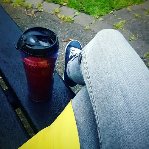 Before Ten In The Park Coffee Time Yellow Planing A Treasure Hunt Shapes And Forms Compostion Park Bench