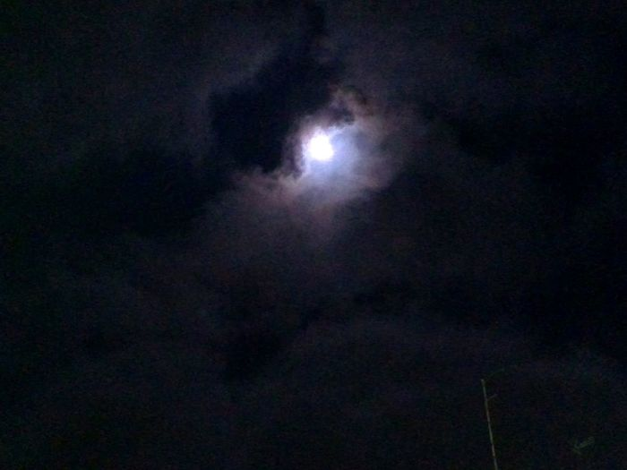 Night Nightphotography Sky Moon Dark Dark Art Clouds