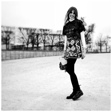 Paris fashion week, Veronika heil brunner shortly before Valentino show Parisfashionweek Pfw Black And White Portrait EyeEm Bnw EE_Daily: Black And White