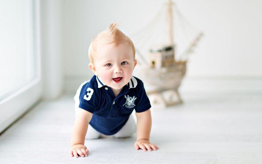 Cute Awesome Happy Baby Enjoying Life
