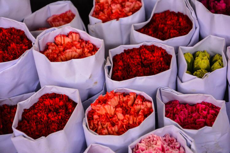 Bright Colors Flower Flower Market Flowers For Sale Hong Kong Lonely Planet Petal Retail  Travel Travel Destinations